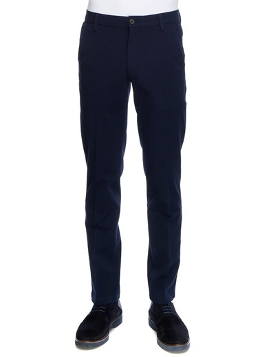 Dockers Dockers Smart 360 Flex Workday Slim Klasik Pantolon Lacivert